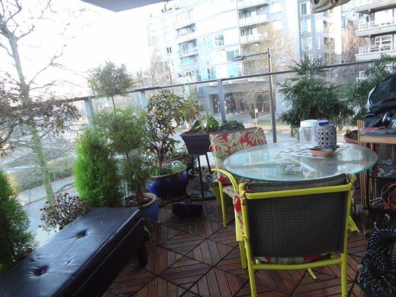 Balcony garden is like another room