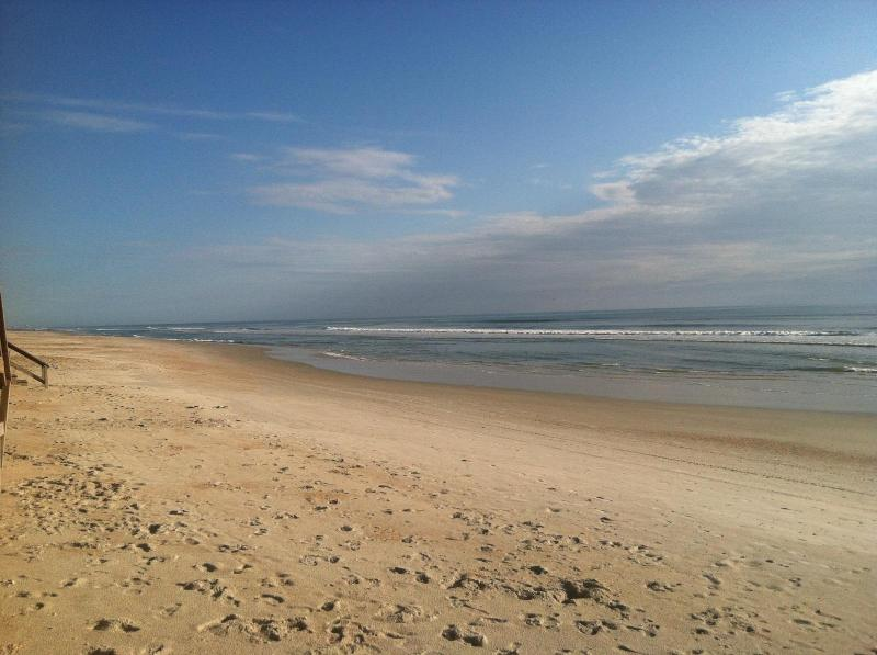 Photo taken by guest of beach in front of your house which is right on the beach