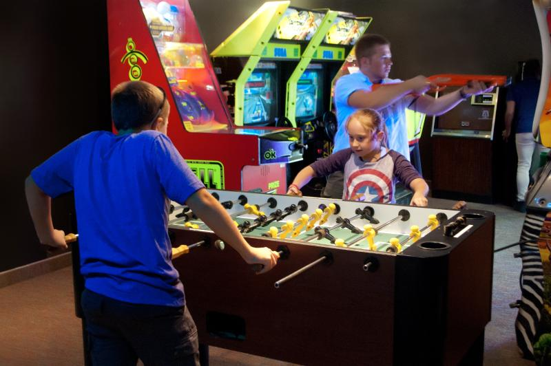 Wyndham Gameroom ~ Fun for Families