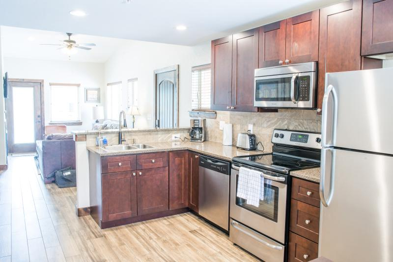 A ground level Bear Lake kitchen