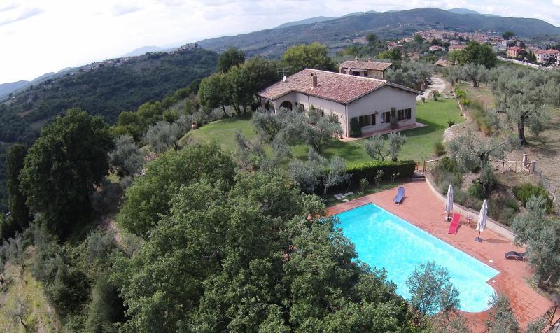 Casa degli ulivi, holiday rental in Pescorocchiano