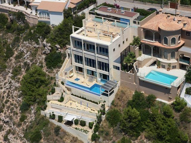 Son Fibla. Luxury Sea front villa near Port Adriano