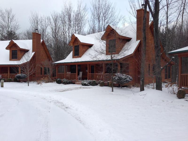 Große Kabine für den Winter mit Langlaufen 5 min entfernt und Skifahren 35min entfernt