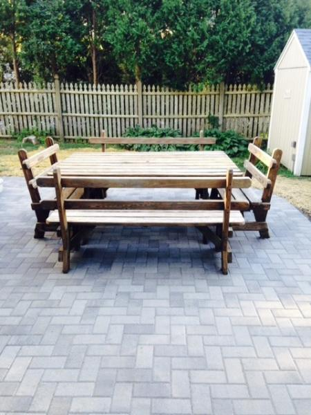 Picnic Table and Patio