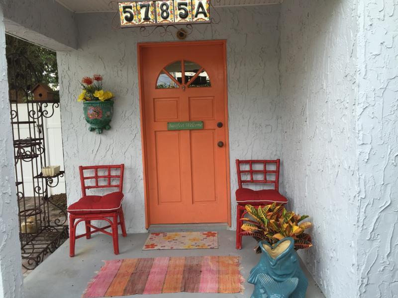 front door of the Ooo Laa Laaaah