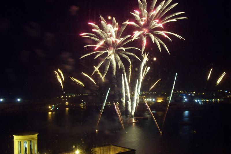 Fireworks Festival right outside your Front Window