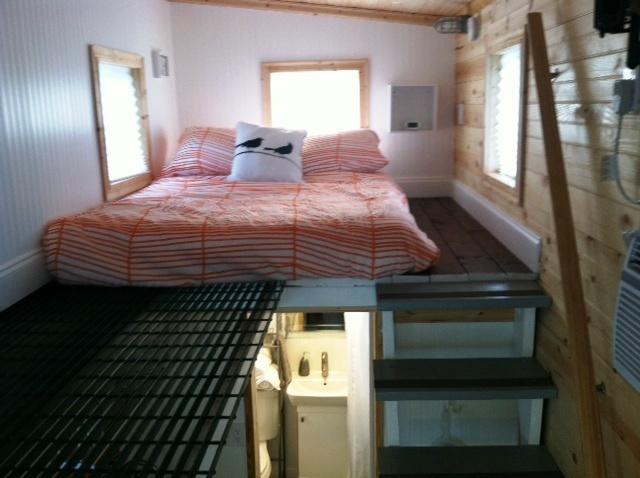 full size bed loft