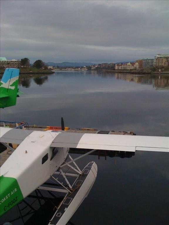Arrive into Victoria's Inner Harbour aboard a sea plane
