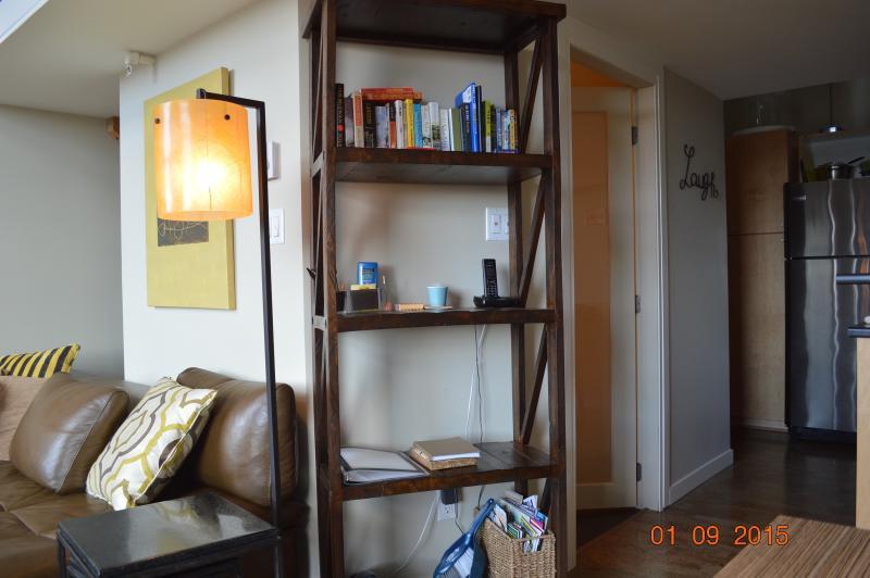 Living room & Kitchen (shelving)