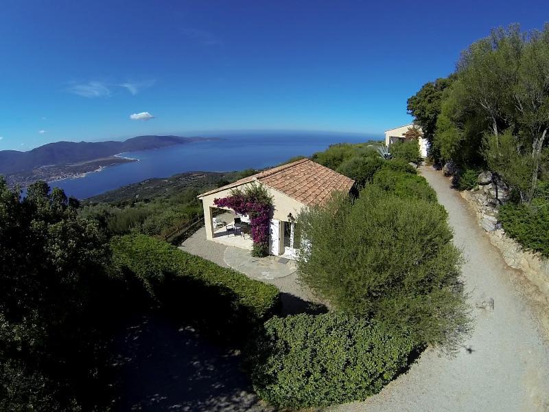Villas 'Calanca' et 'Colomba' Vues d'un drone