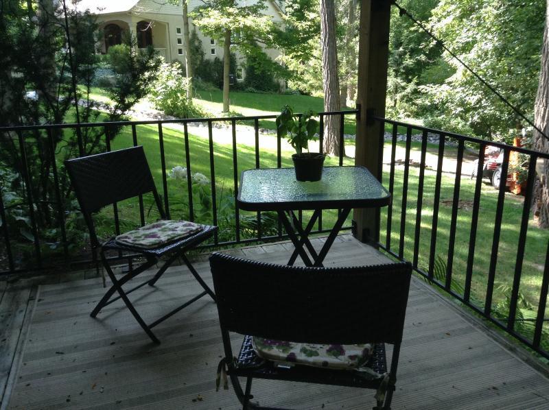Profiter des jardins et le cadre unique de cette suite de commentaires de votre terrasse privée