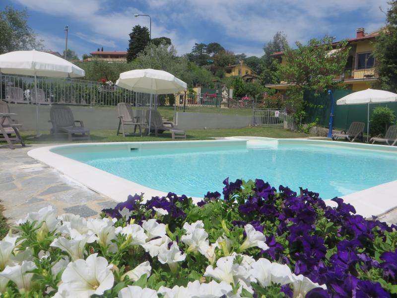 Villa le Statue Suite view, holiday rental in Trespiano