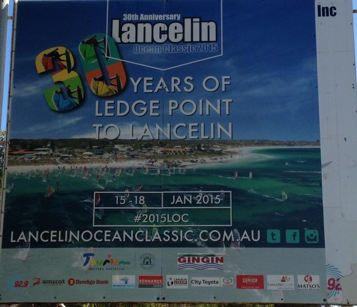 2015 - this year was the 30th year celebration of the Ledge Point to Lancelin Ocean Classic
