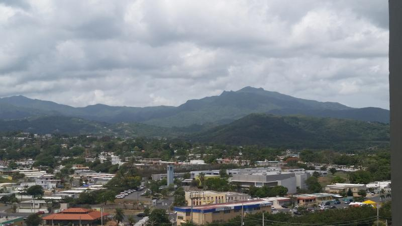 View to the El Yunque National Forest