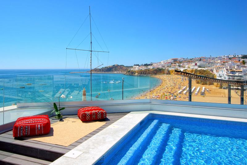 Pool views - Top terrace