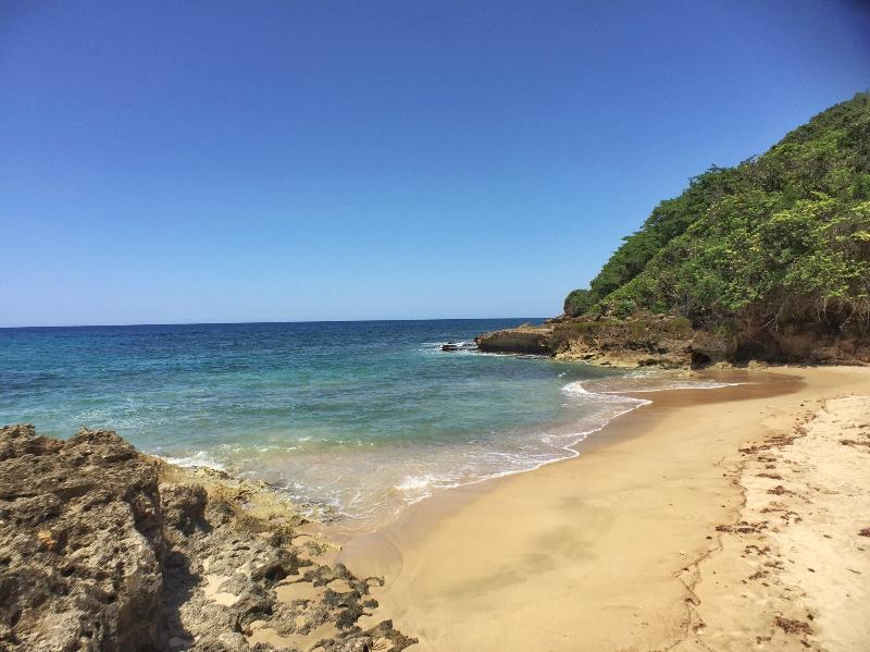 Puerto Hermina Beach on a tranquil summer day. 5 minute drive, 20 minute walk.