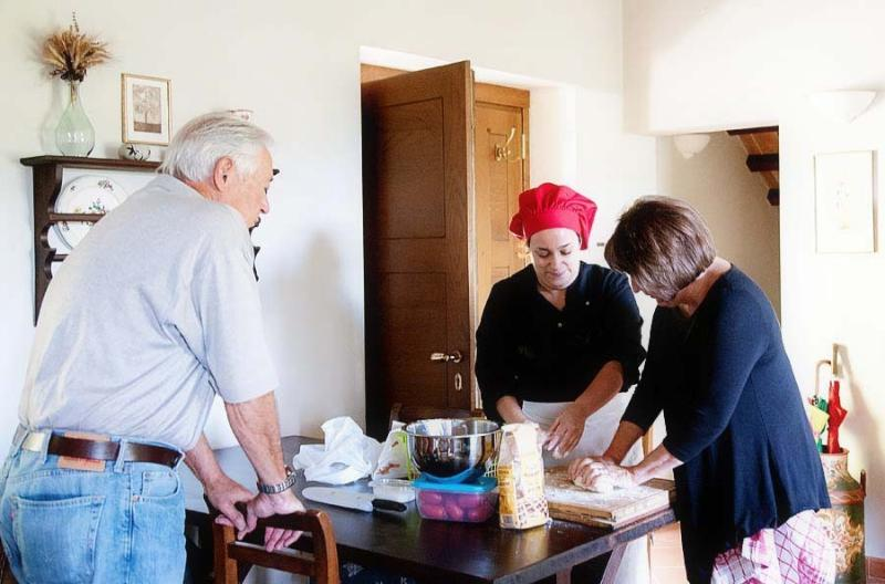Enjoy an authentic Tuscan cooking class.