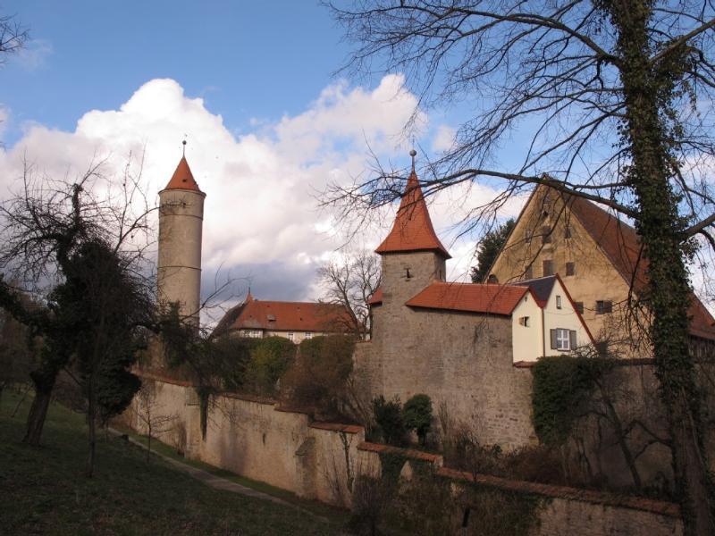 City walls Dinkelsbühl