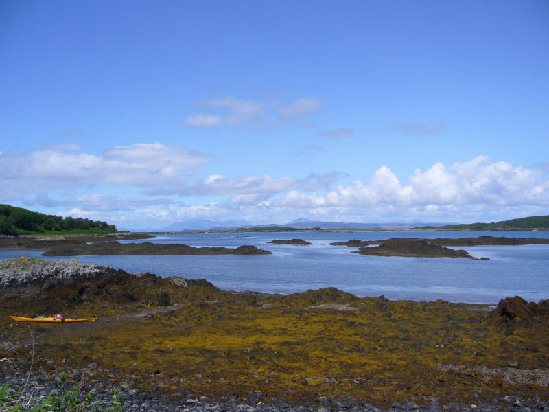 Arisaig on a warm summers day