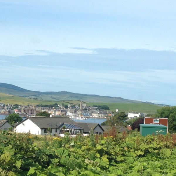 The town of Campbeltown is 16 miles away.