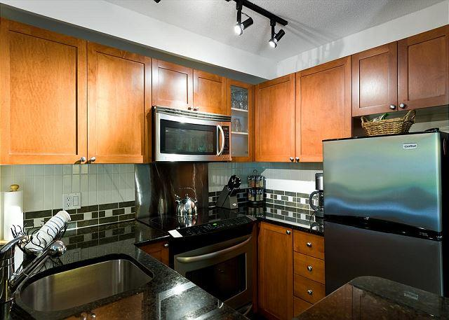 """Great unit. We appreciated that the kitchen was so well stocked"