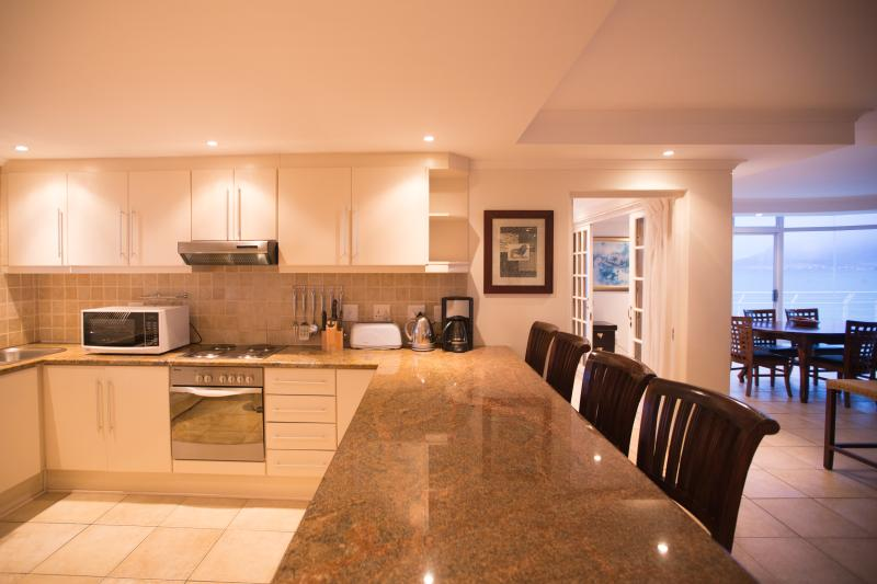 Kitchen dining counter.