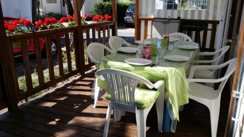 mobil home vendu plus disponible, casa vacanza a Saint-Denis d'Oleron