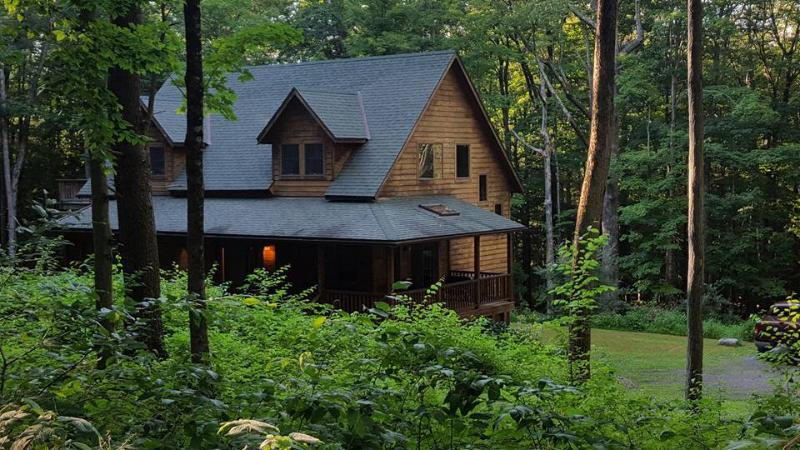 Coldbrook B&B is 2 hours North of NYC in the heart of the Catskill Mtns; only 10 min from Woodstock.