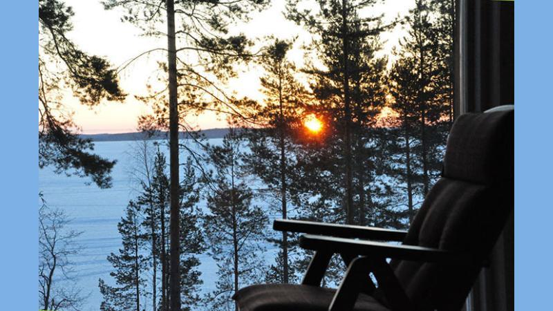 Window view sunrise