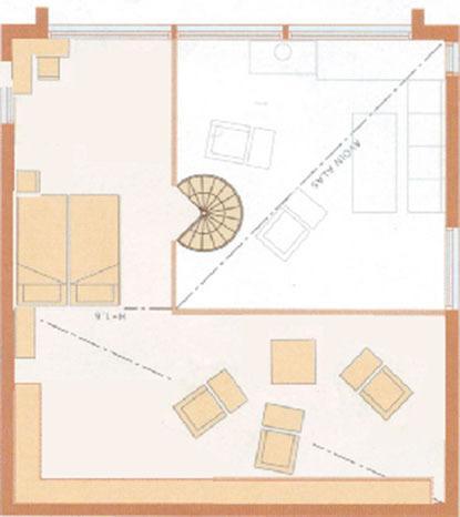 Loft floor layout