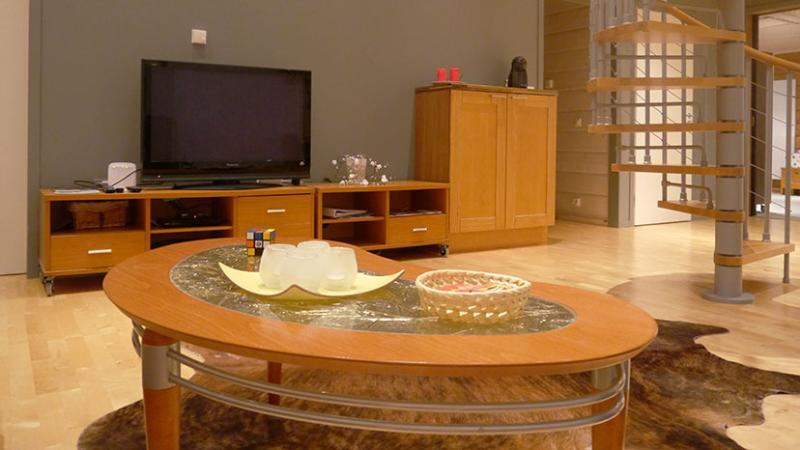 Living room, TV (sputnik channels)