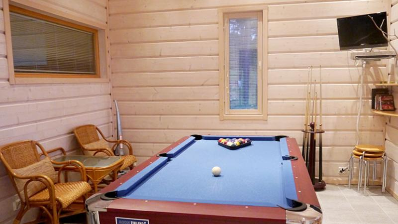 American pool room