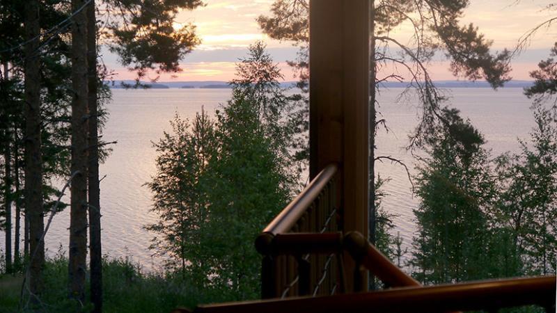 Loft lake view