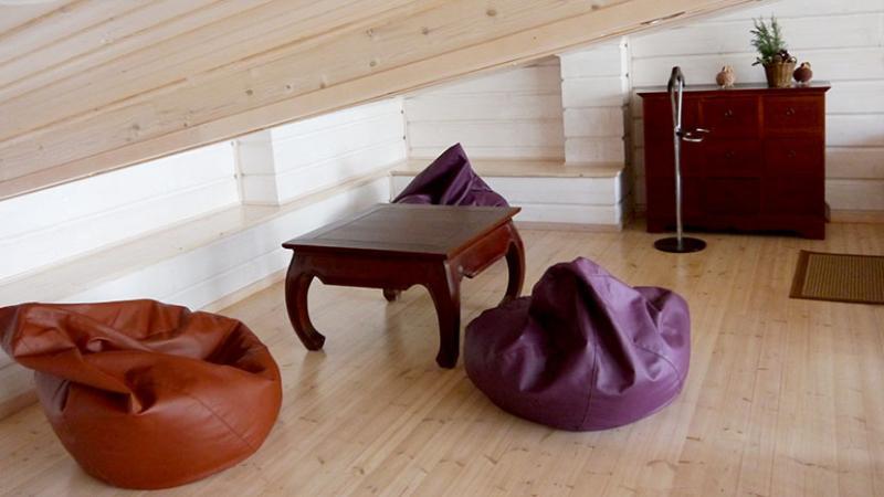 Loft relax area
