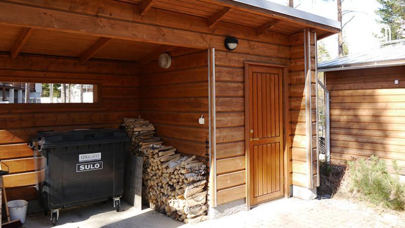 Firewood & Trash box