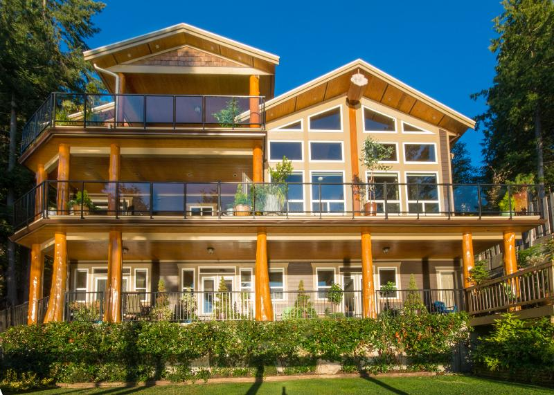 sunshinecoast water front vacation rental, alquiler de vacaciones en Sechelt