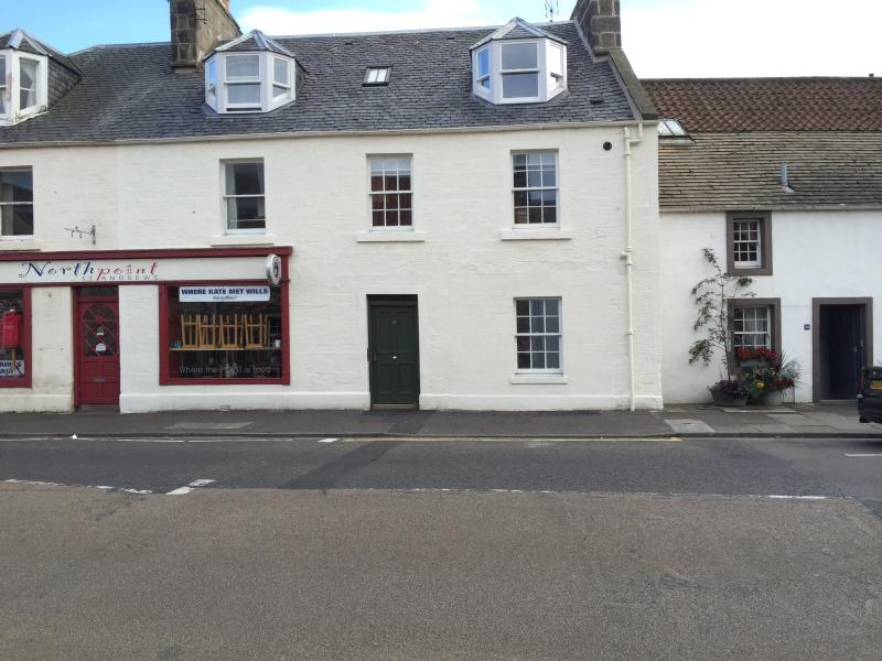 External view / North point coffee shop next door.....