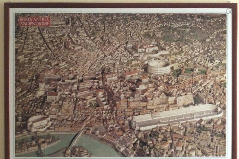 Kaiserlichen Rom-Rekonstruktion