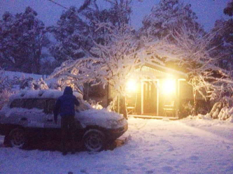 Winter im Gully Cottage