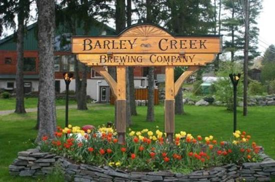 Barley Creek Brewery Sports Bar,House brewed beer,Great food...