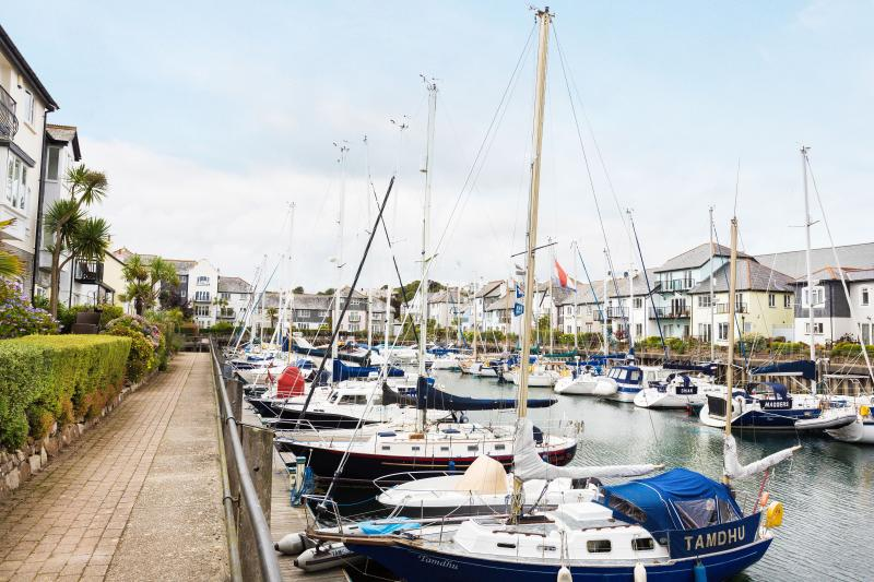 Waterside is set within the prestigious Port Pendennis Marina Village