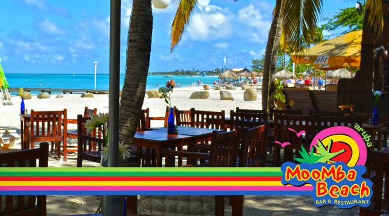 Moomba Beach Bar & Restaurant is a great place to enjoy lunch or dinner right at the beach.