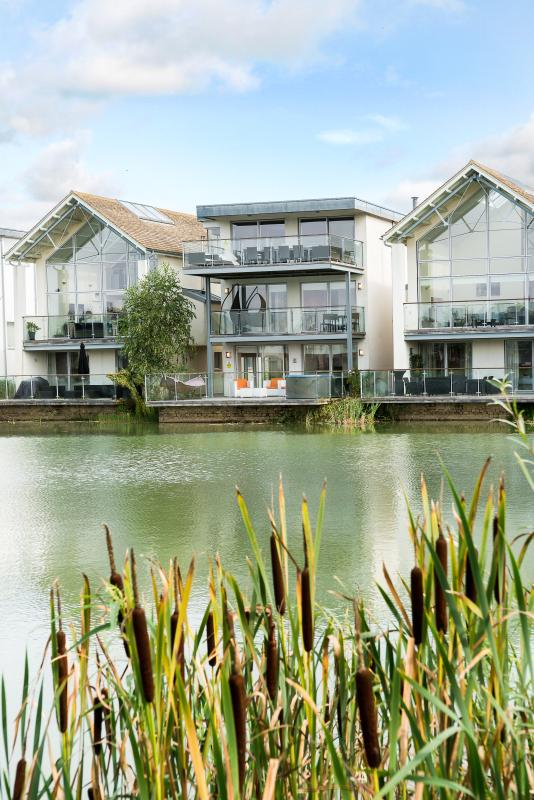The HM24 Lakeside holiday villa at, The Lower Mill Estate