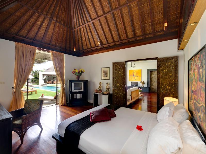 Majapahit Villas - Villa Maya - dormitorio de invitados 1