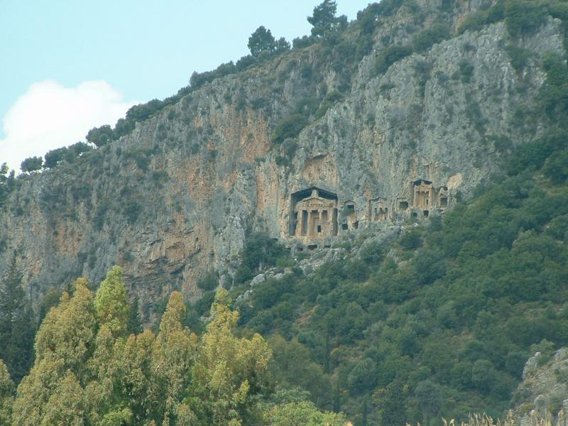Rock Tombs Dalyan