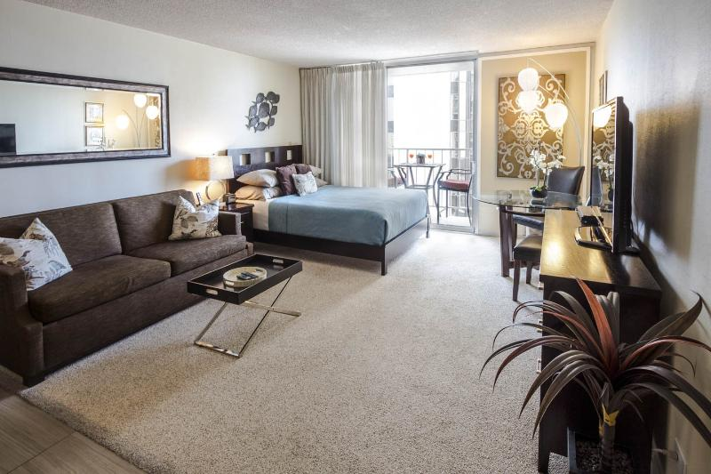Large beautifully upgraded and fully furnished studio with everything you need