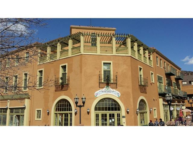 Historic Mantiou Springs Spa Building Downtown Manitou Springs
