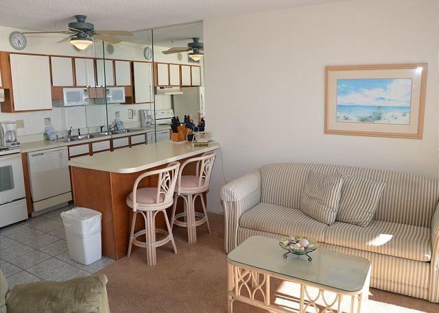 BEAUTIFUL 2 BEDROOM OCEAN FRONT CONDO, location de vacances à Garden City Beach