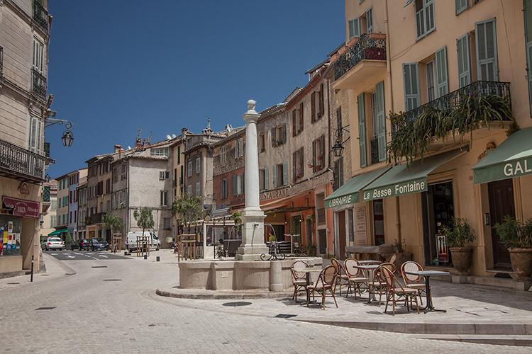 Street in Vence village