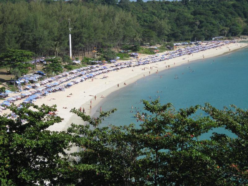 Nai Harn beach 4 min drive from vllla